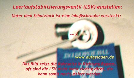 LSV einstellen